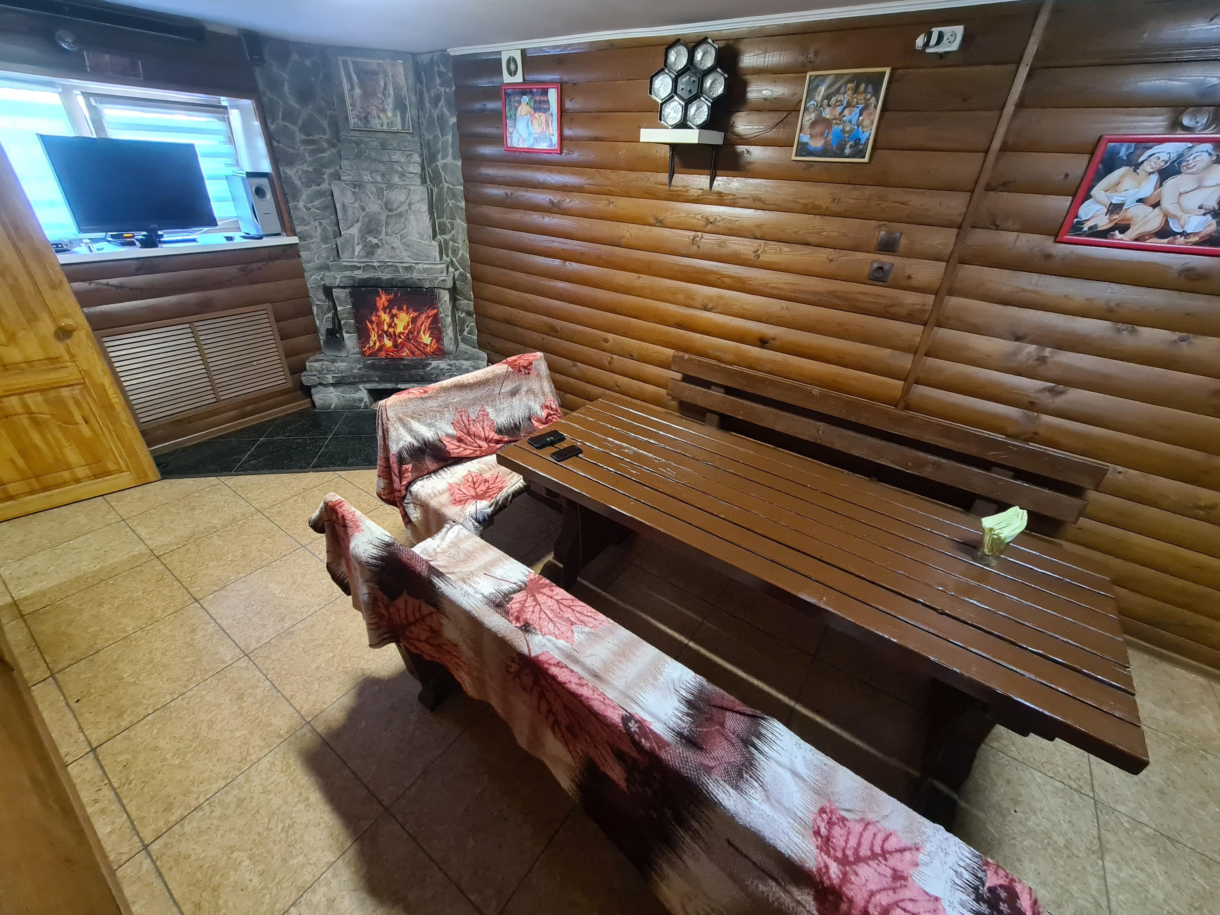 Алтайская Сказка, баня на дровах - №8